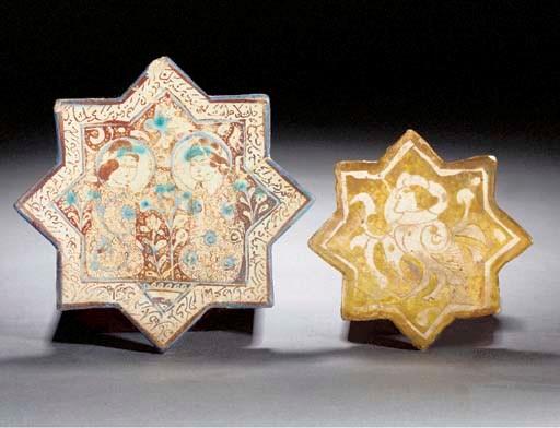 A Kashan lustre stellar tile 1