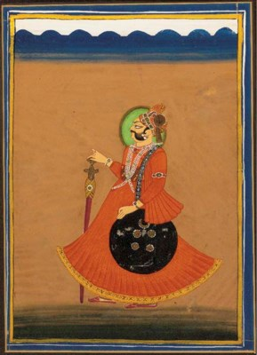 Portrait of a Noble Rajasthan,