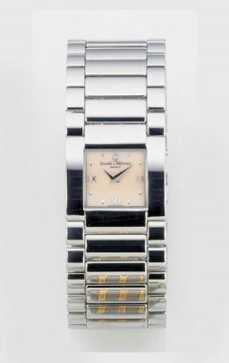 BAUME & MERCIER, A STAINLESS S