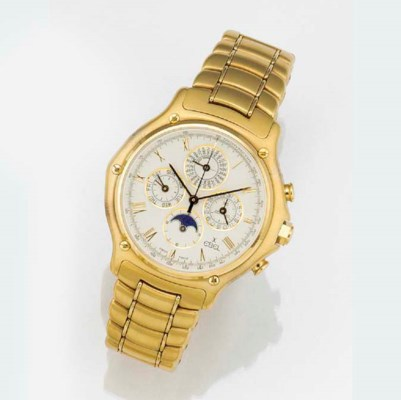 EBEL, AN 18ct. GOLD AUTOMATIC