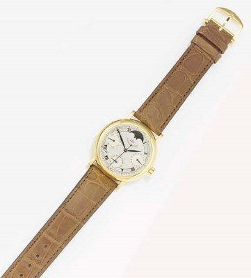 IWC, AN 18ct. GOLD AUTOMATIC C