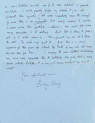 WAUGH, Arthur Evelyn St John (