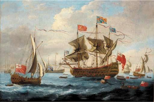 After Willem van de Velde, the