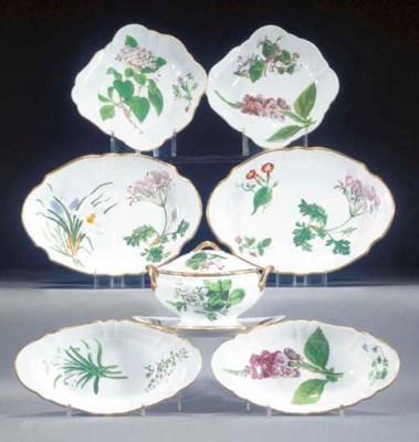 A Wedgwood bone-china botanica
