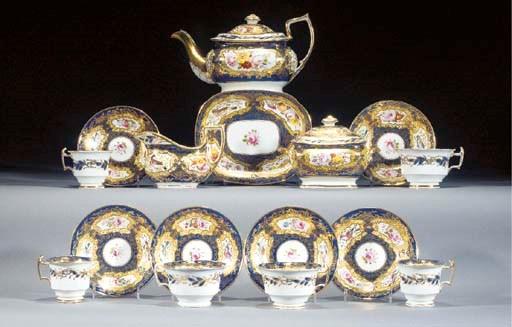 A English porcelain and Copela