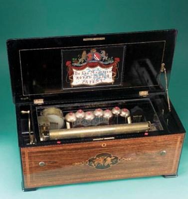 A rare musical box by Weill an