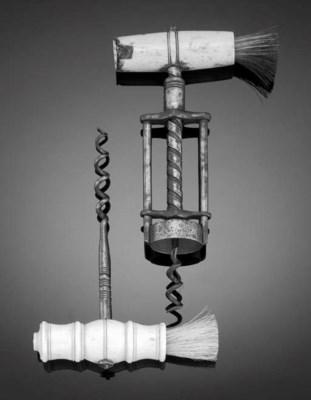 AN ENGLISH 19TH CENTURY STEEL
