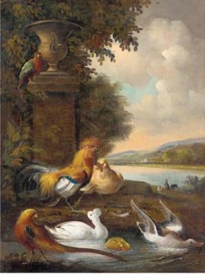 Manner of Melchior de Hondecoe
