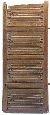 An oak linen fold panel fragme