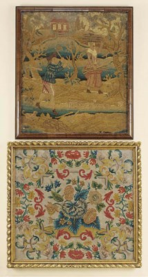 A Continental tapestry panel,