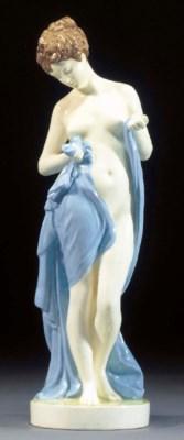 A Goldscheider pottery figure