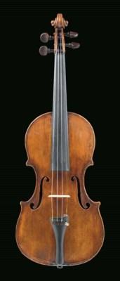 A violin labelled Joseph Guarn