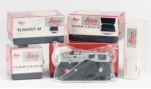 Leica M4-P Anniversary set