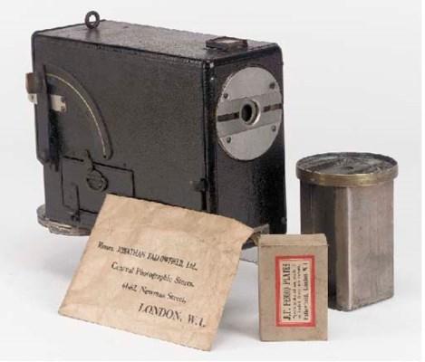 Aptus ferrotype camera
