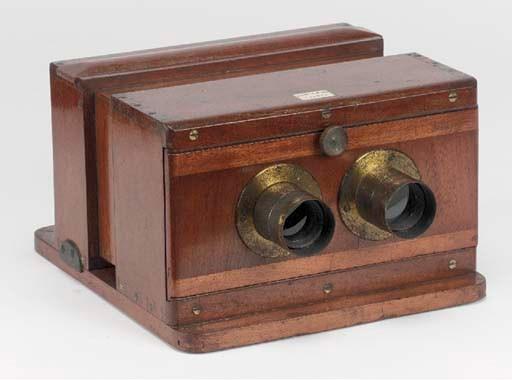 Sliding box stereoscopic camer