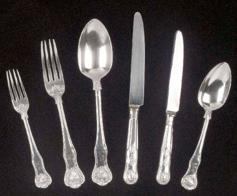 A William IV Silver Flatware S