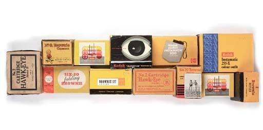 British Kodak cameras