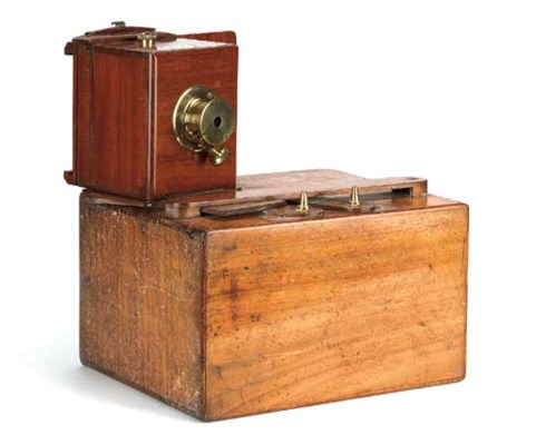 Single-lens stereoscopic camer