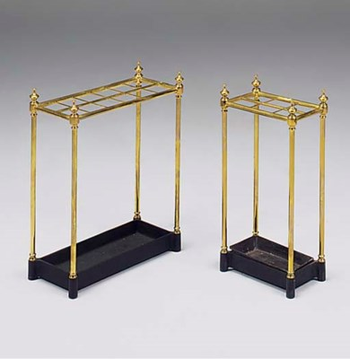 A brass twelve division umbrel