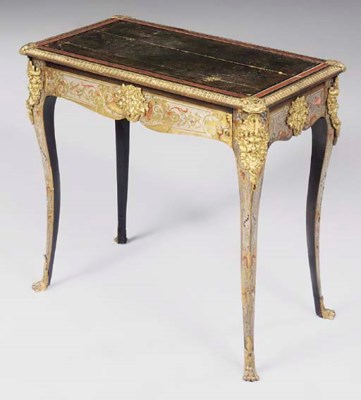A French ormolu mounted brass