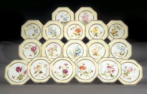 A Wedgwood bone china pale-yel