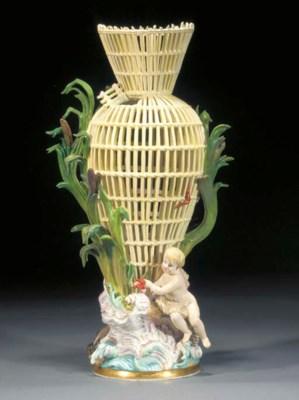 A Meissen vase