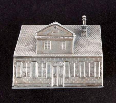 A silver novelty box