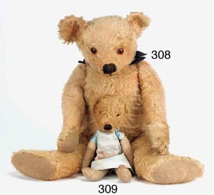 A rare Chad Valley teddy bear