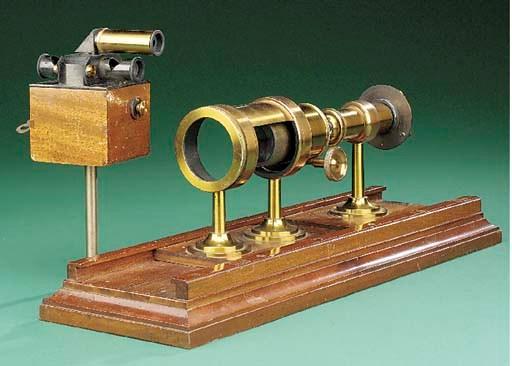 A rare flicker photometer,