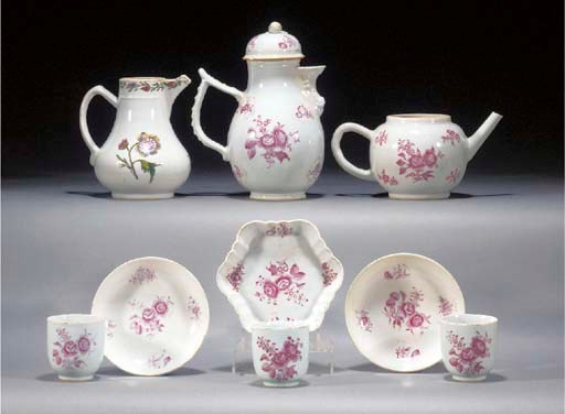 A Chinese export Meissen-style