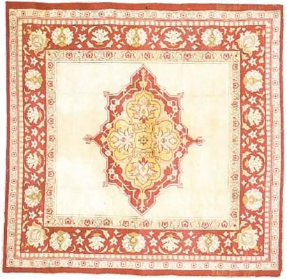 A wool Hereke carpet
