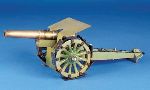 A  Märklin Heavy Field Gun