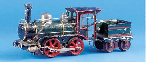 A  Märklin clockwork 1021R 0-4