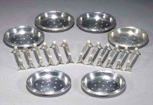 A set of twelve WMF silvered m