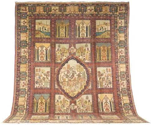 A fine Tabriz Garden carpet, N