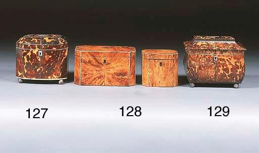 A George III tortoiseshell and