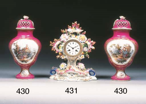A Paris clock case