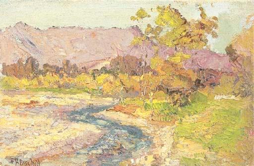 FRANZ ALBERT BISCHOFF (1864-19