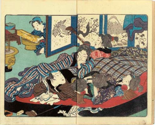 Utagawa school (19th century)