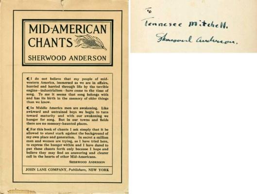 ANDERSON, Sherwood (1876-1941)