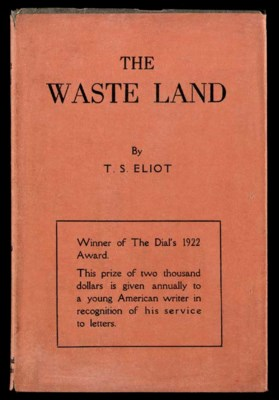 ELIOT, T.S. The Waste Land. Ne