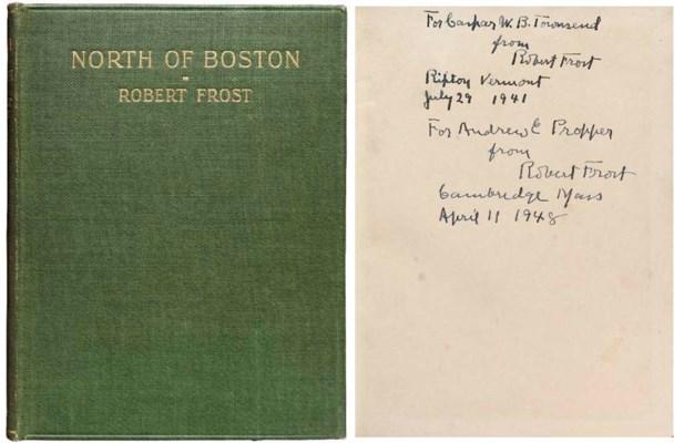 FROST, Robert. North of Boston