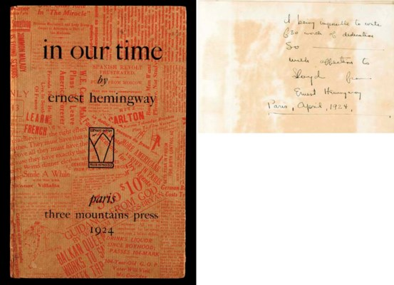 ernest hemingways in our time essay A summary of overall analysis in ernest hemingway's in our time learn exactly what happened in this chapter, scene, or section of in our time and what it means.