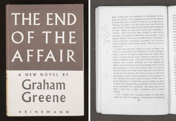 GREENE, Graham. The End of the