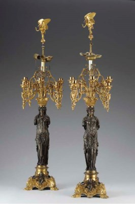 Pair of French Neoclassic-styl