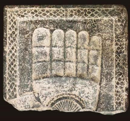 A Green Schist Relief Fragment