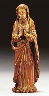 An Ivory Figure of 'Our Lady o