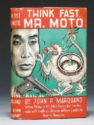 MARQUAND, John P. Think Fast,