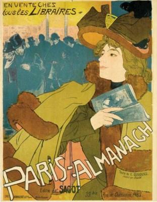 'PARIS-ALMANACH,' A LITHOGRAPH