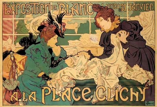 'EXPOSITION DE BLANC A LA PLAC